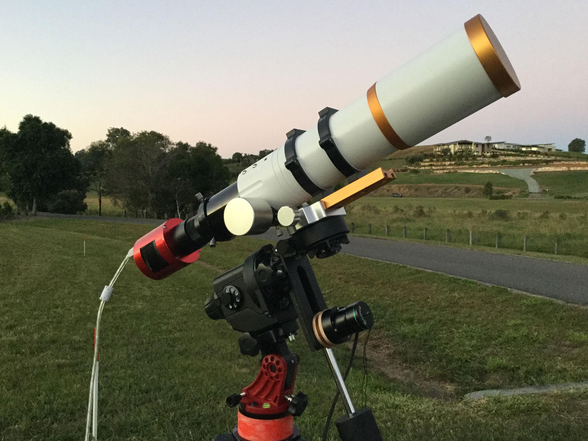 William Optics GT71 equipment configurations