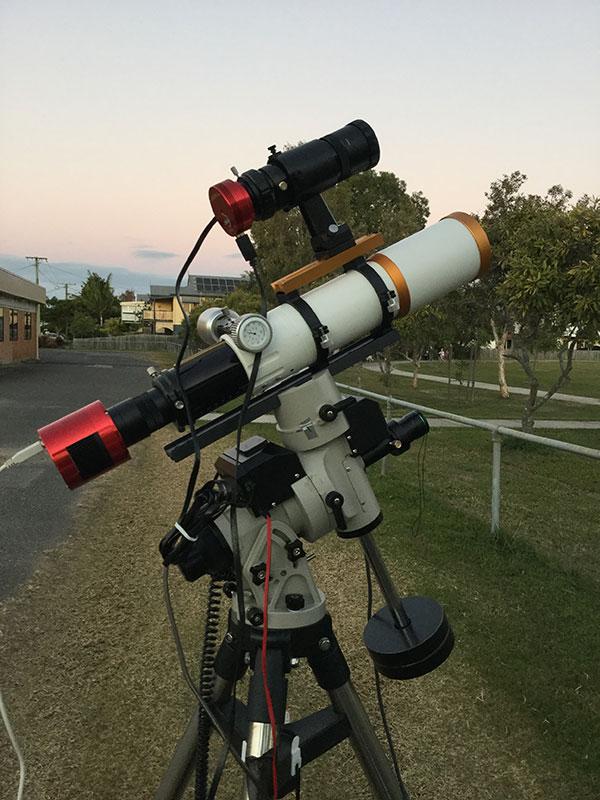 William Optics GT71 Ioptron IEQ30 ZAW ASI 294 MC Pro