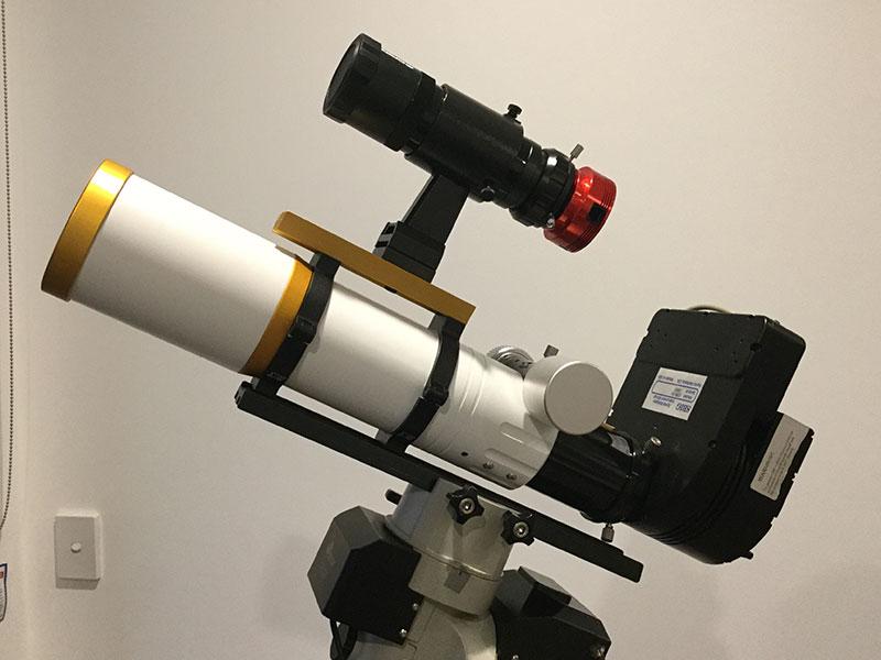 William Optics GT71SBIG narrowband imaging